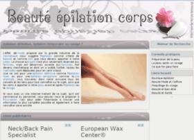 beaute-epilation-corps.fr