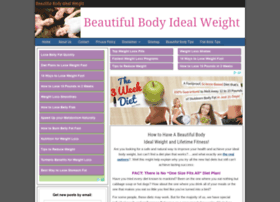 beautiful-body-ideal-weight.com