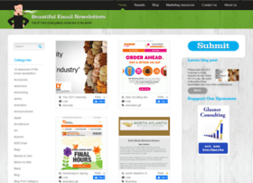Beautiful-email-newsletters.com