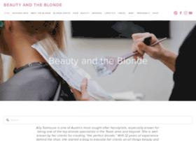 beautyandtheblonde.com