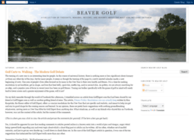 beavergolf.blogspot.com