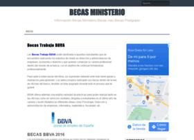 becasministerio.es