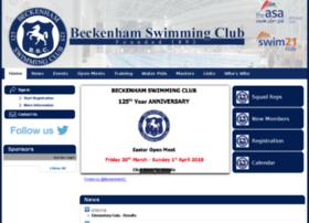 beckenhamswimmingclub.com