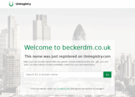 beckerdm.co.uk