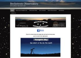 beckstromobservatory.com