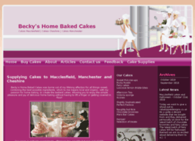 beckyshomebakedcakes.co.uk