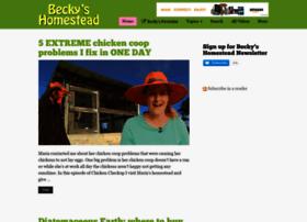 beckyshomestead.com