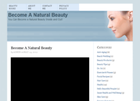 becomeanaturalbeauty.com