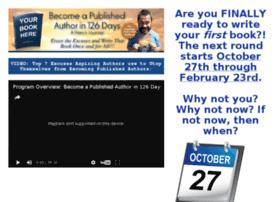 becomeapublishedauthorin126days.com