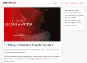 becomeawriter.com