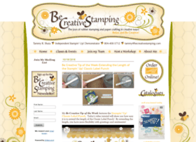 becreativestamping.com