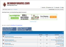 bedbugforums.com