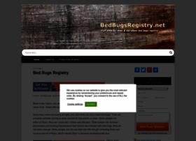 bedbugsregistry.net