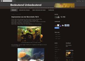 bedeutendunbedeutend.blogspot.com