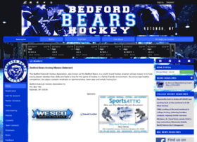 bedfordbearshockey.com