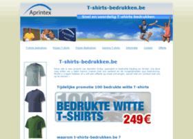 bedrukte-shirts.be