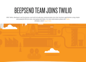 beepsend.com