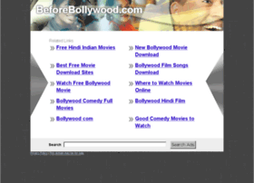 beforebollywood.com