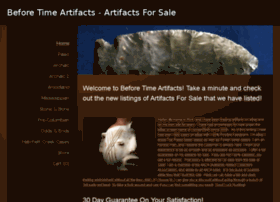 beforetimeartifacts.com