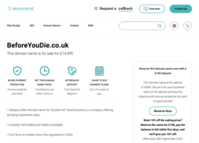 beforeyoudie.co.uk