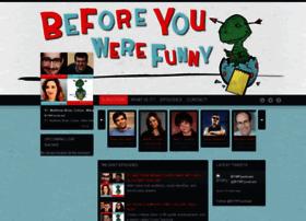 beforeyouwerefunny.com
