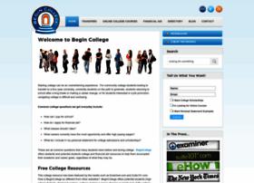 begincollege.com