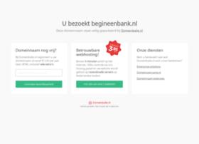 begineenbank.nl