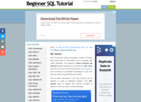 Beginner-sql-tutorial.com