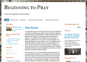 beginningtopray.blogspot.com