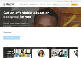 beginnow.strayer.edu