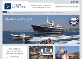 begumyachting.com