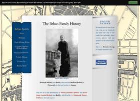 behanfamilyhistory.com