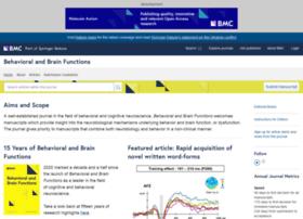 behavioralandbrainfunctions.biomedcentral.com