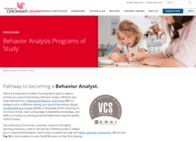 behavioranalysis.uc.edu