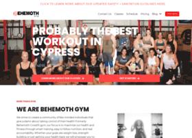 behemothcrossfit.com