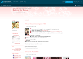 behind-the-bows.livejournal.com