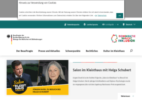 behindertenbeauftragte.de