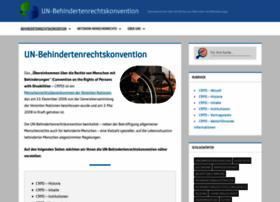 behindertenrechtskonvention.info