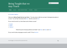 beingtaught.org