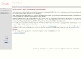 beitragssatz.itsg.de