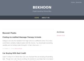 bekhoon.com