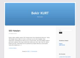 bekirkurt.com.tr