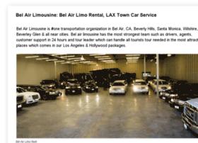 belair-limousine.com