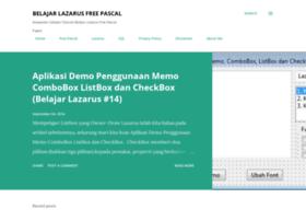 belajarlazarus.blogspot.com