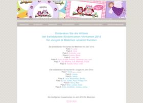 beliebte-kindernamen.de