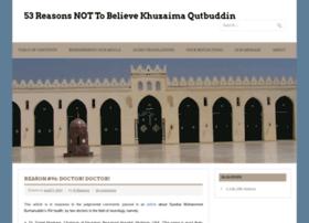 believesyednaqutbuddin.com