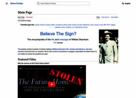 believethesign.com