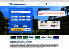 belize.rentalcargroup.com