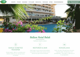 belkonhotel.com