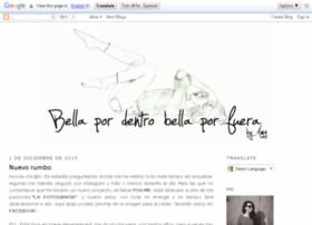 bellapordentrobellaporfuera.blogspot.com